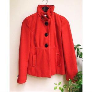Bright Red Coat